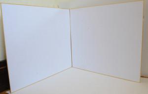 自作レフ板の白い方の面
